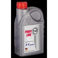 Полусинтетическое моторное масло PROFESSIONAL HUNDERT Profi Line 2-T Energy 1л