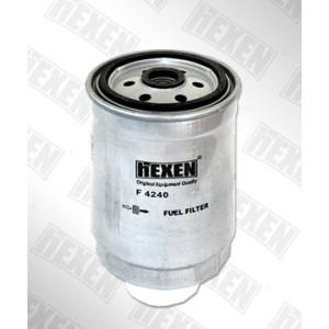 Фильтр топливный HEXEN F4240 Hyundai Accent, Getz, H-1, ix-35, ix-55, Santa Fe, Sonata, Kia Ceed