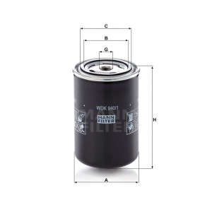 Фильтр топливный MANN-FILTER WDK 940/1
